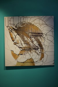 Abstract NN - Gold by Ramona Romanu