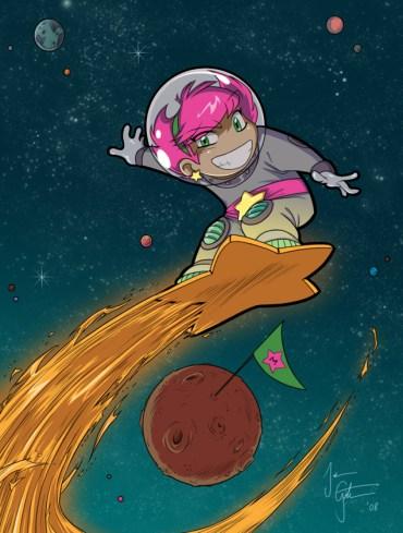Star Surfing por JessKat-art en DeviantArt