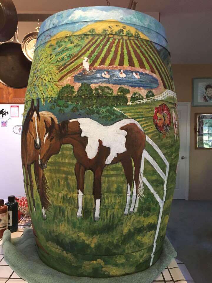 Linda Kelly's Wine Barrel
