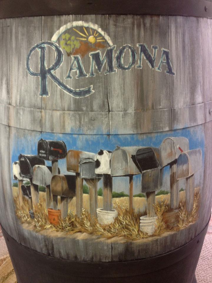 Lynette Bredow's Wine Barrel