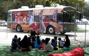 San Diego County Library Bookmobile
