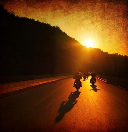 Bikers Enjoy a Ride Through Ramona