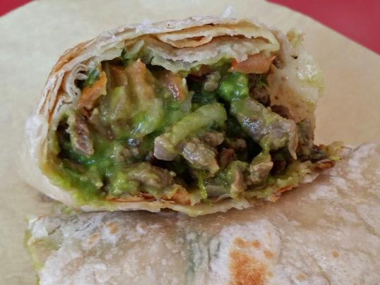 Salsa's Carne Asada Burrito