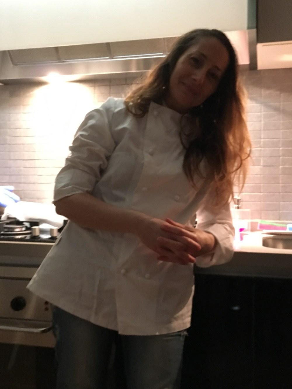 crumble amaretti ricotta e mandorle di samantha fiorucci