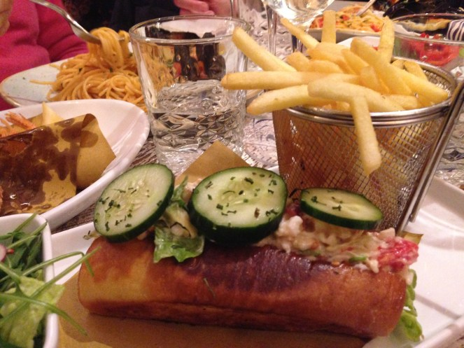 The Fisherman Burger- ristorante di pesce- Roma- risto pescheria-lobster and fish