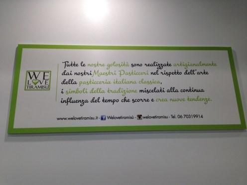 We Love Tiramisù-roma-tiramisù artigianale-Maestro pasticcere Andrea Forattini -via Appia Nuova 131-