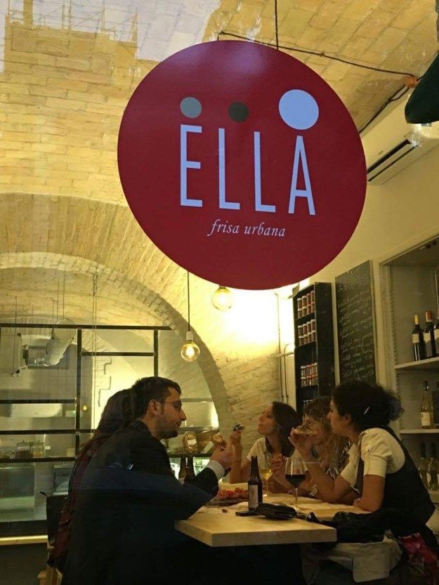 Ella Frisa Urbana- frisElla- via Marco Aurelio 30/A-Roma-Colosseo-friselle gourmet