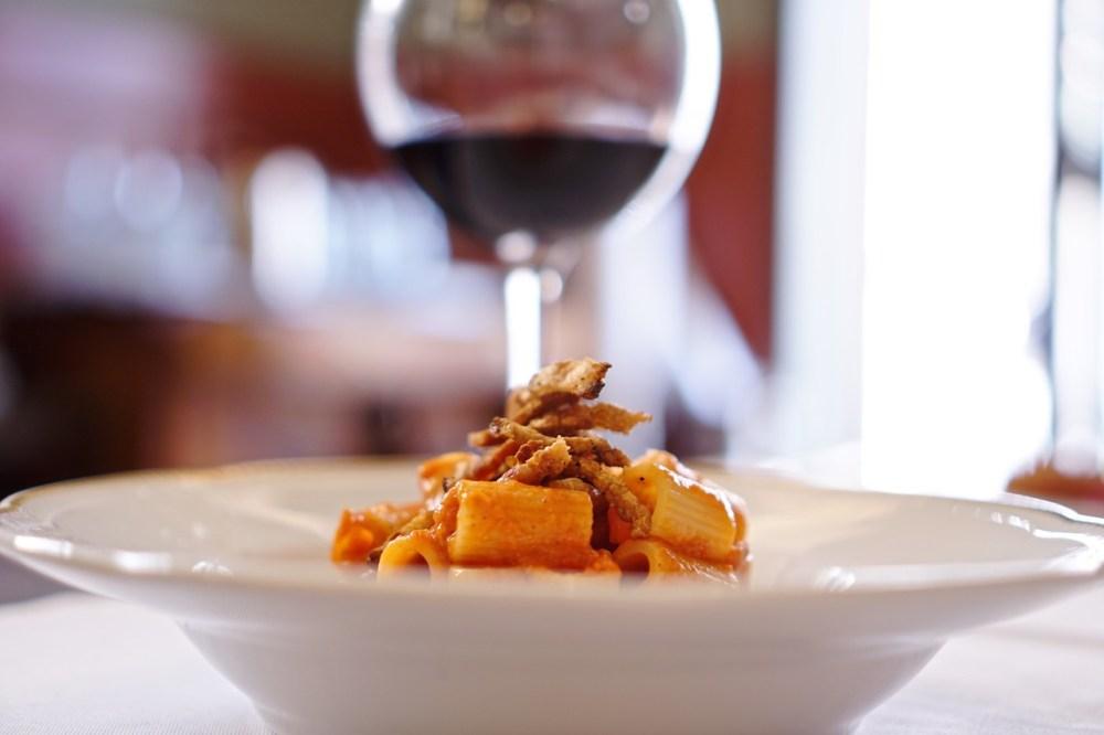 Amatriciana da 'Gusto ristorante e pizzeria a Roma cucina italiana