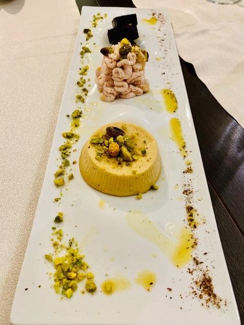 antipasto di mortadella al pistacchio