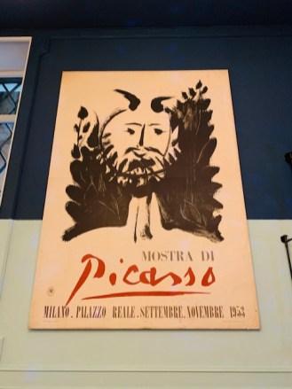 'Gusto ristorante a Roma manifesto di Picasso