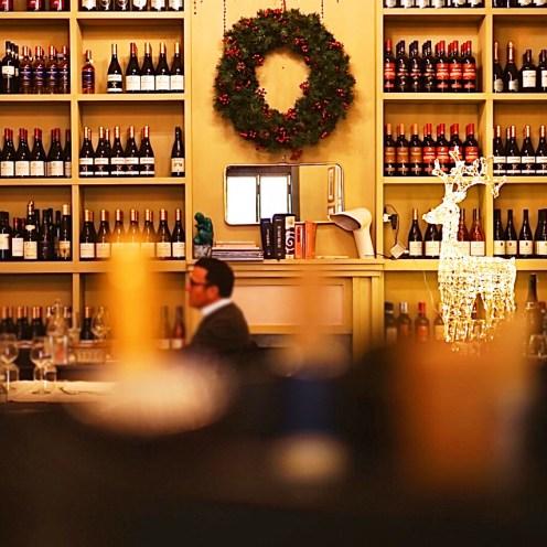 'Gusto ristorante a Roma sala del camino