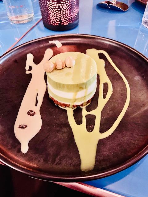 ristorante-amami-roma-fusion- dolce-bavarese-te-matcha