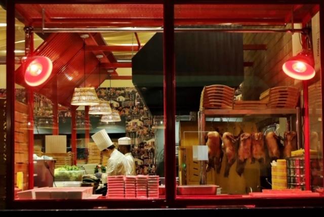cucina cinese a vista