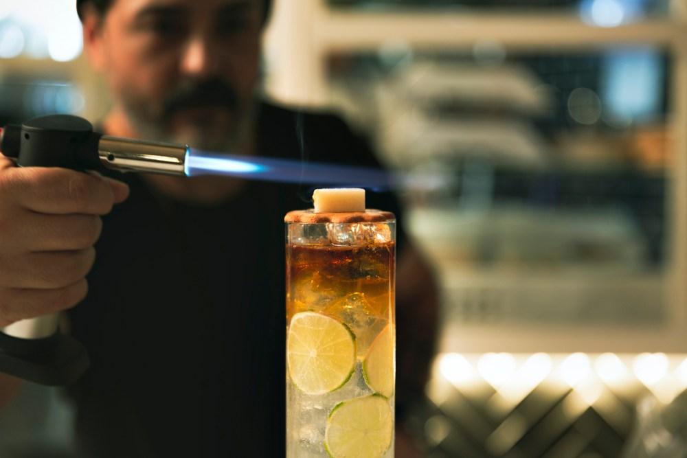 dettagli cocktail bistrot Maestro Roma