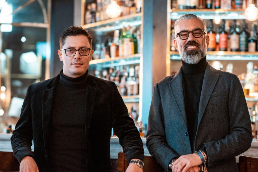 i proprietari Davide Solari e Lorenzo Renzi