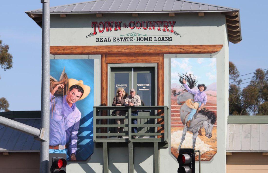 Casey Tibbs Mural