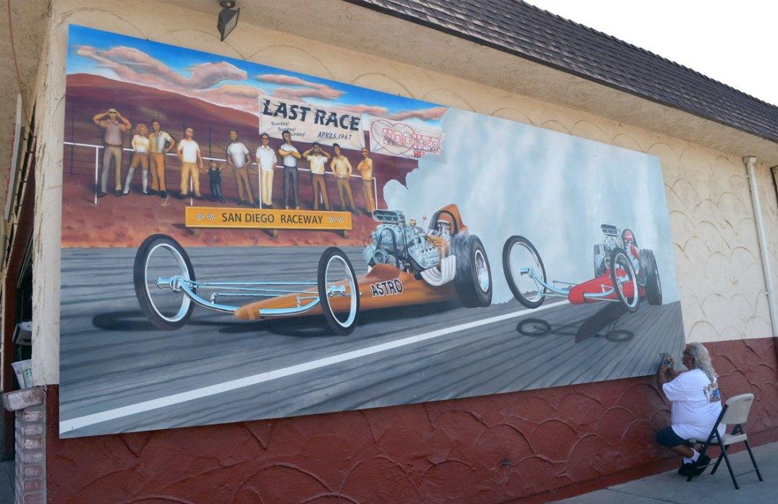 Ramona Raceway Dragster