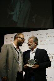 Rodríguez Ibarra en los premios Focus