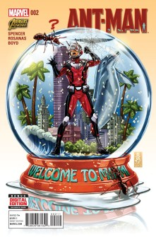 ANT-MAN #2 Cover