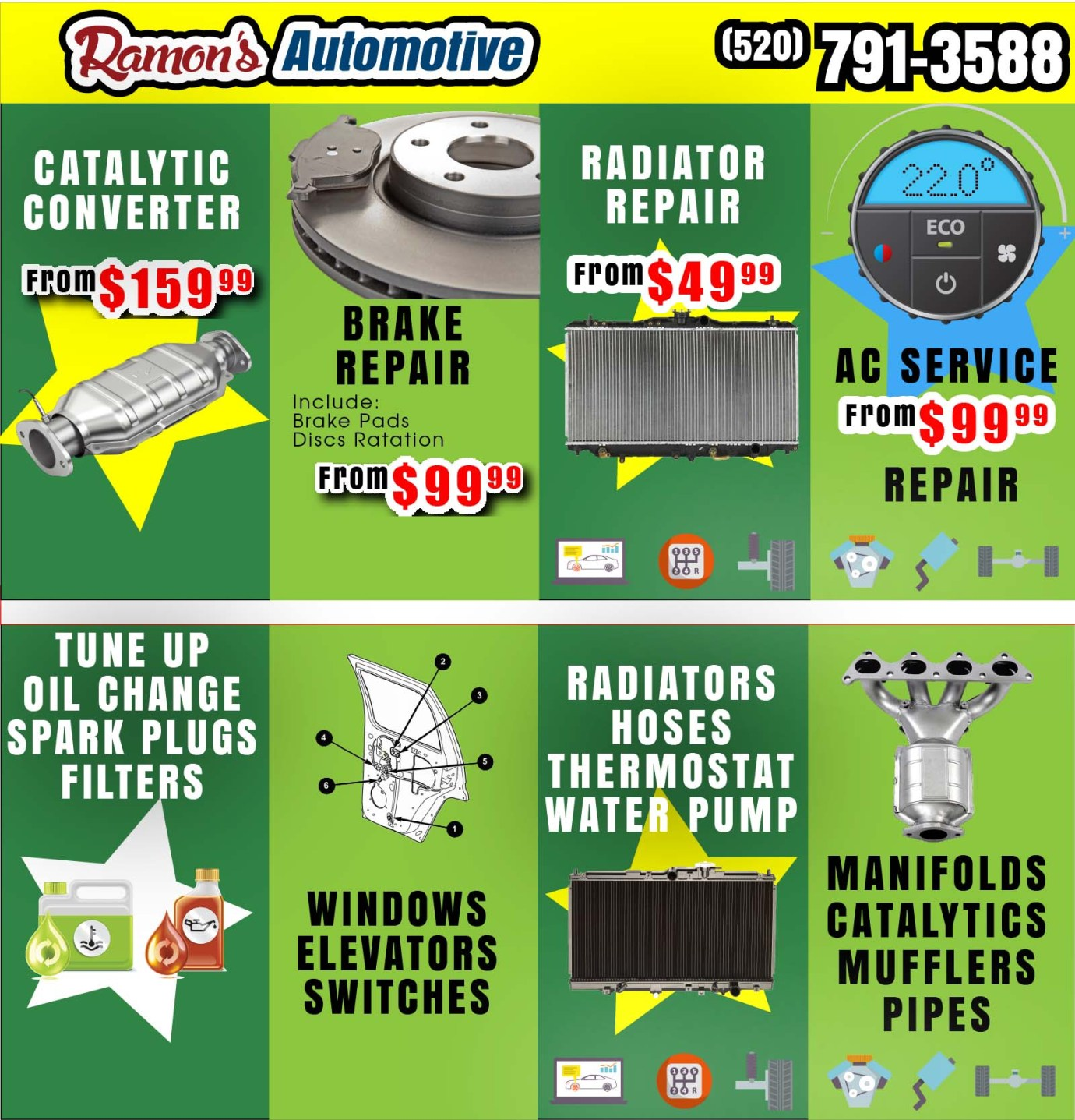 Ramon's Automotive | 1721 S 4th Ave  Tucson AZ | Phone: (520