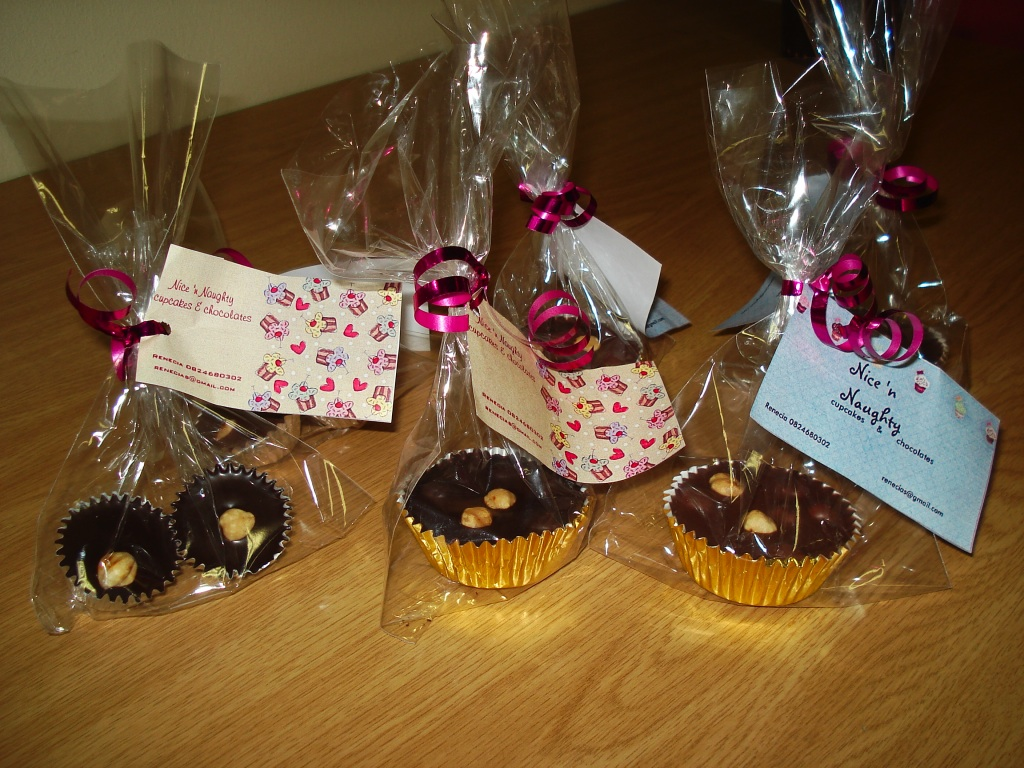 Chocolate cluster gifts by Renecia Scheepers