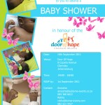Baby shower in Honour of the Door Of Hope Children's mission