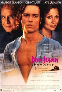 Don Juan Demarco Johnny Depp Marlon Brando