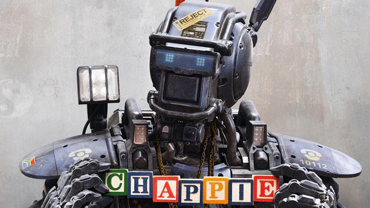 Chappie movie 2015