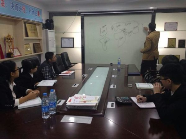 Sales Workshop for Chinese Company to expand in South Africa