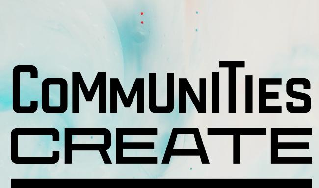 Communities Create