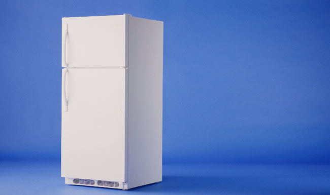 Canada's Children's Hospital Foundations: Fridge on blue background