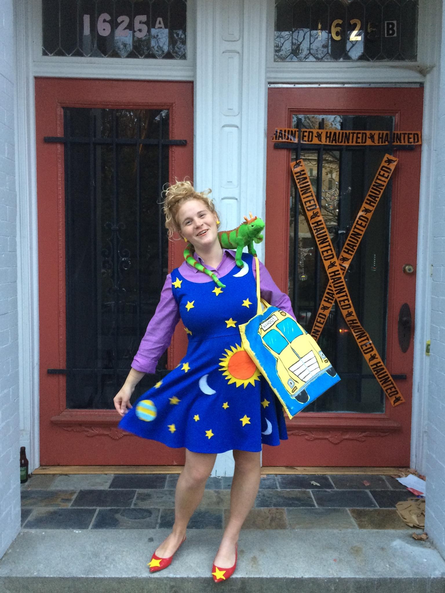 Ms Frizzle Handmade Halloween Costume Micah Baker