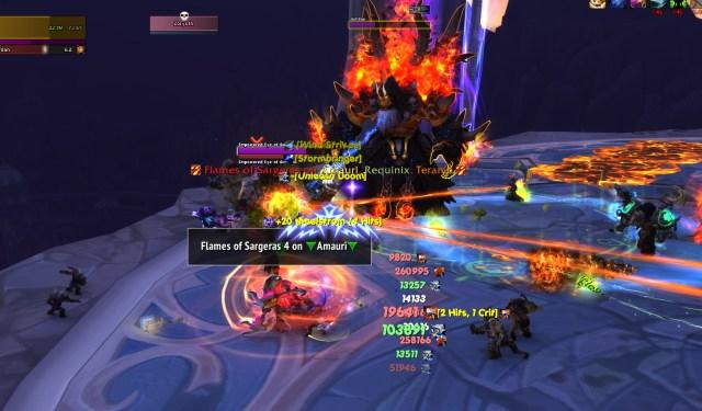 Raid screenshot