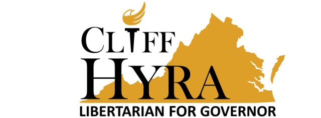 Cliff Hyra Libertarian for Governor logo