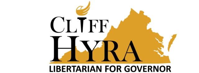 Cliff Hyra Libertarian for Governor logo