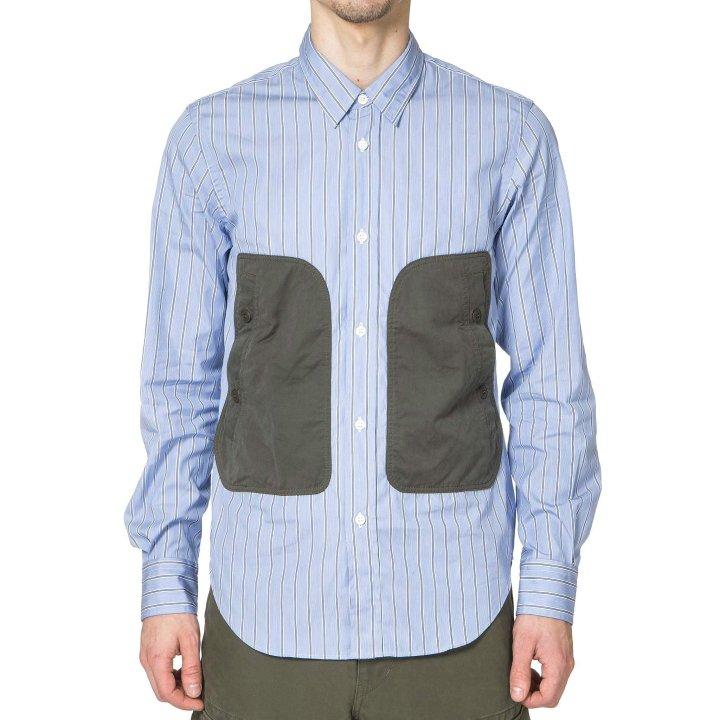 Comme-des-Garcons-HOMME-Cotton-Broad-Strip-Cotton-Polyester-Canvas-Shirt-Blue-White-Khaki-2_2048x2048