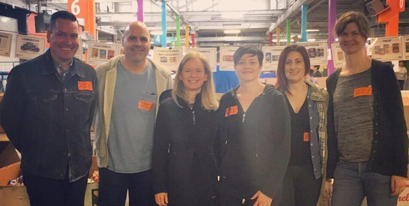 MAKING A BIG IMPACT: THIS IS WHAT HAPPENS WHEN YOU VOLUNTEER AS A TEAM