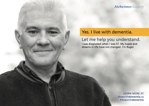 Photo of Roger - Yes. I live with dementia. Let me help you understand.