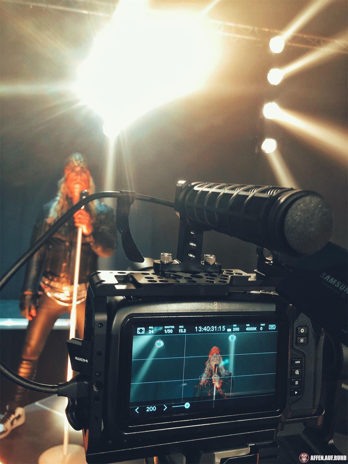 John Diva Videodreh Kamera