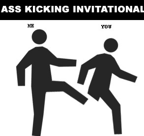 Ass Kicking Contest