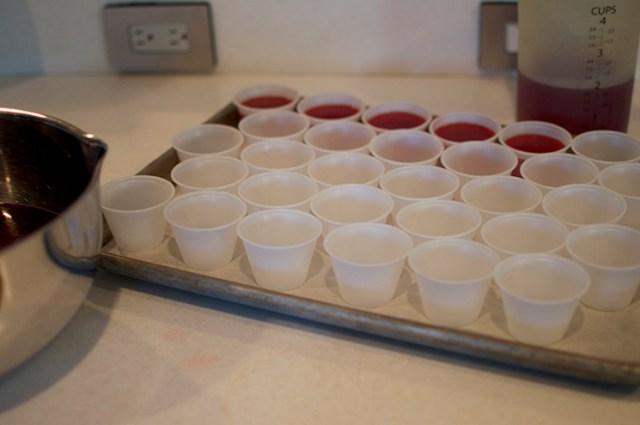 cran orange jello shots