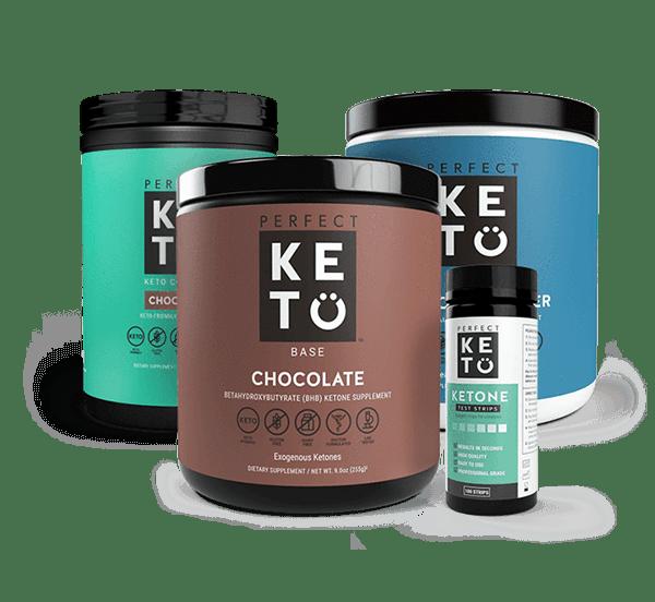 perfect keto starter bundle chocolate