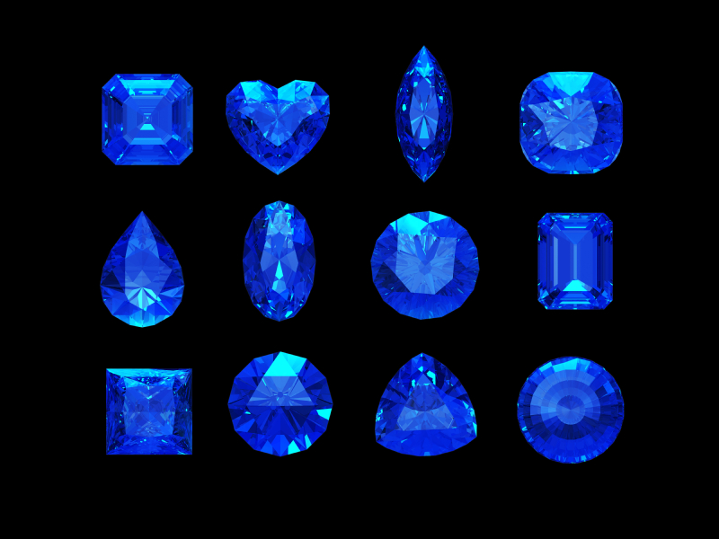 Sapphire John And Laura Ramsey Gems At Large Ramsey Gems