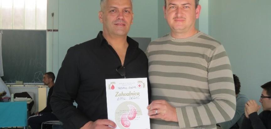 Emil Dedić krv je darovao 50 puta:  Krv darujem s velikim zadovoljstvom