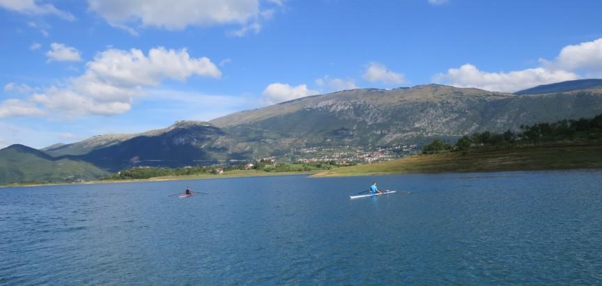 Hrvatski veslači pripremali se na Ramskom jezeru za Svjetsko prvenstvo