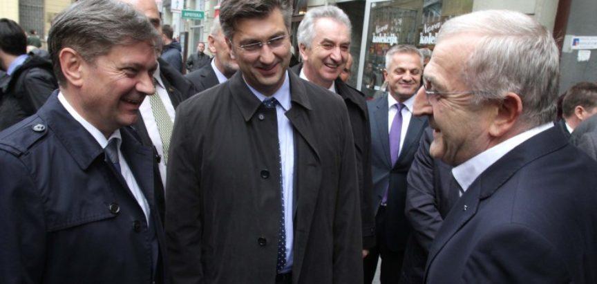 Plenković u BiH