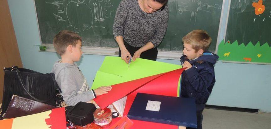 Foto: Kreativna radionica u OŠ Marka Marulića u Prozoru