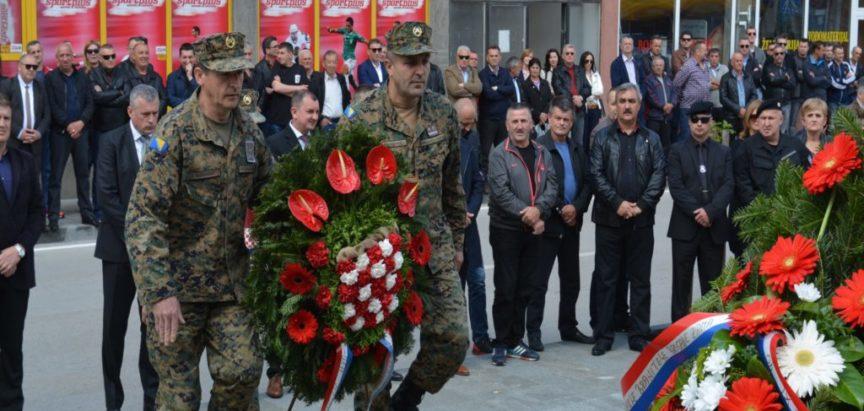 """FOTO: Svečano obilježena 25.obljetnica Brigade """"RAMA"""""""