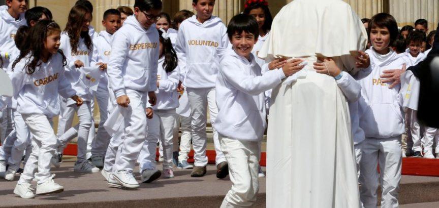 Papa Franjo u Kolumbiji