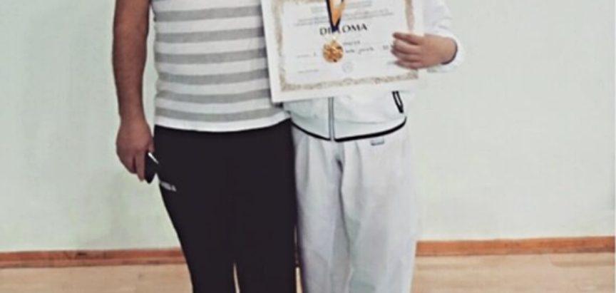 Predstavljamo: Monika Rajič -Državna prvakinja u karateu u kategoriji juniorke -59 kg